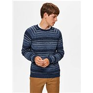 SELECTED HOMME Blue striped sweater - Jumper