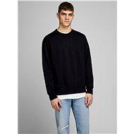 JACK & JONES Black basic sweatshirt Soft - Sweatshirt
