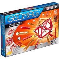 Geomag - Kids Color 64 dílků - Magnetická stavebnice