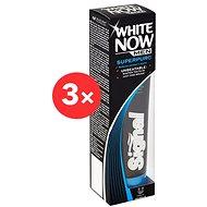 SIGNAL White Now Men Super Pure 3× 75 ml - Zubní pasta