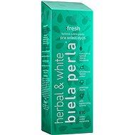 BIELA PERLA Herbal a White Fresh 75 ml - Zubní pasta