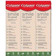 COLGATE Smile For Good Whitening 3× 75 ml