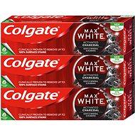 COLGATE Max White Charcoal 3× 75 ml - Zubní pasta