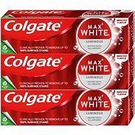COLGATE Max White One Luminous 3× 75 ml - Zubní pasta