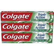 COLGATE Triple Action Xtra Fresh 3× 75 ml - Zubní pasta