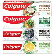COLGATE Naturals mix pack 4 × 75 ml - Zubní pasta