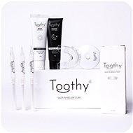Bělič zubů TOOTHY Launcher  - Set sady na bělení zubů a bělících zubních past