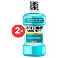 LISTERINE Coolmint 2× 1 l - Ústní voda