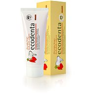 ECODENTA Wild strawberry scented toothpaste for children with carrot extract and Kalident 75 ml - Zubní pasta
