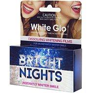 WHITE GLO Bright Nights Instantly Whiter Smile 6 ks - Bělič zubů