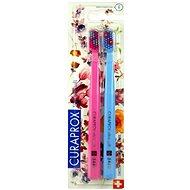 CURAPROX CS 5460 Ultra Soft duo Flower Edition 2 ks - Zubní kartáček