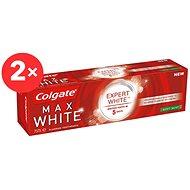 COLGATE Max White Expert White Soft Mint  2× 75 ml - Zubní pasta