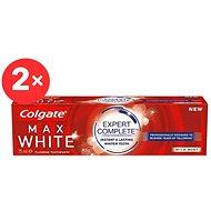 COLGATE Max White Expert Complete Mild Mint 2× 75 ml - Zubní pasta