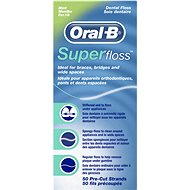 ORAL B Super Floss Mint 50 m - Zubní nit