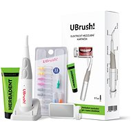 HERBADENT Ubrush! Electric Interdental Toothbrush with accessories - Oral Hygiene Set