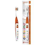 DENTISSIMO Junior 6+ oranžový - Dětský zubní kartáček