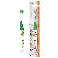 DENTISSIMO Junior 6+ zelený - Dětský zubní kartáček