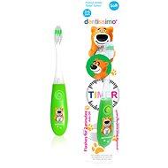 DENTISSIMO Kids Timer, zelený - Dětský zubní kartáček