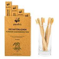 PANDOO Bambus Medium Soft dětský 4 ks - Dětský zubní kartáček