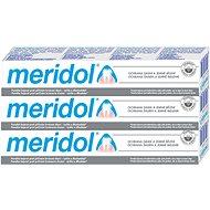 MERIDOL Whitening 3 × 75 ml - Zubní pasta