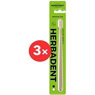HERBADENT Eco Soft 3 × - Zubní kartáček