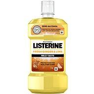 Ústní voda LISTERINE Fresh Ginger & Lime Mild Taste 500 ml
