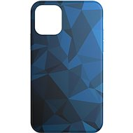 AlzaGuard – iPhone 11 Pro – Blue Geometry Madness
