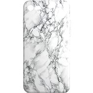 AlzaGuard - iPhone 7/8/SE 2020 - Bílý Mramor - Kryt na mobil