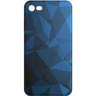 AlzaGuard - iPhone 7/8/SE 2020 - Blue Geometry Madness - Kryt na mobil
