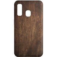 AlzaGuard - Samsung Galaxy A40 - Tmavé dřevo - Kryt na mobil