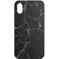 AlzaGuard - Apple iPhone X/XS - Černý Mramor - Kryt na mobil