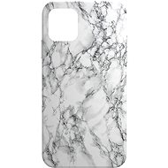 AlzaGuard - Apple iPhone 11 - Bílý Mramor - Kryt na mobil