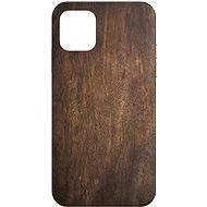 AlzaGuard - Apple iPhone 11 - Tmavé dřevo - Kryt na mobil