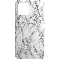 AlzaGuard - Apple iPhone 12 Mini - Bílý Mramor - Kryt na mobil