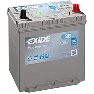 EXIDE Premium 38Ah, 12V, EA386 - Car Battery