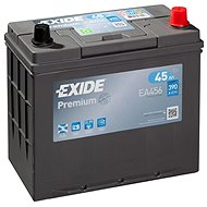 EXIDE Premium 45Ah, 12V, EA456 - Car Battery