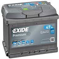 EXIDE Premium 47Ah, 12V, EA472 - Car Battery