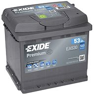EXIDE Premium 53Ah, 12V, EA530 - Car Battery
