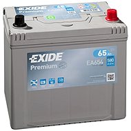 EXIDE Premium 65Ah, 12V, EA654 - Car Battery