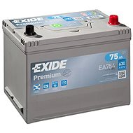 EXIDE Premium 75Ah, 12V, EA754 - Car Battery