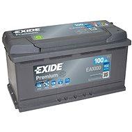 EXIDE Premium 100Ah, 12V, EA1000 - Autobaterie