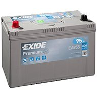 EXIDE Premium 95Ah, 12V, EA955 - Car Battery