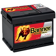 BANNER Power Bull 62Ah, 12V, P62 19