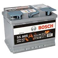 BOSCH S5A 050, 60Ah, 12V, AGM (0 092 S5A 050) - Car Battery