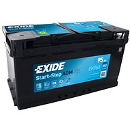 EXIDE START-STOP AGM 95Ah, 12V, EK950 - Car Battery