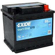 EXIDE START-STOP EFB 55Ah, 12V, EL550 - Autobaterie