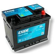 EXIDE START-STOP EFB 60Ah, 12V, EL600 - Autobaterie