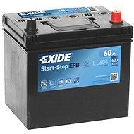 EXIDE START-STOP EFB 60Ah, 12V, EL604 - Autobaterie
