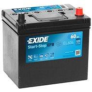 EXIDE START-STOP EFB 60Ah, 12V, EL605 - Autobaterie