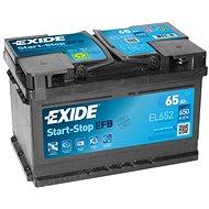 EXIDE START-STOP EFB 65Ah, 12V, EL652 - Autobaterie